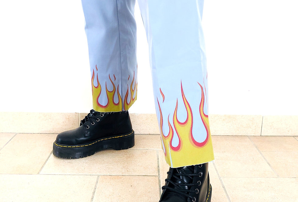 pantaloni-cotone-fiamme-vintage