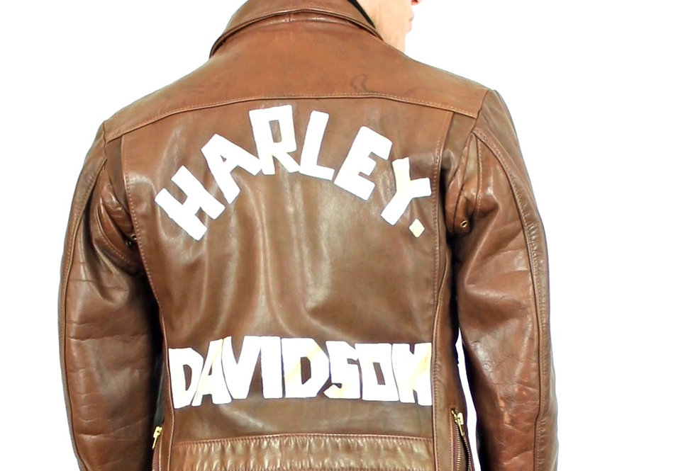 giacca-vera-pelle-harley-davidson-vintage