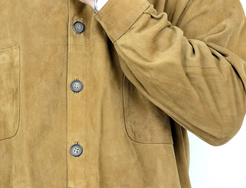 giacca-pelle-scamosciata-renna-vintage