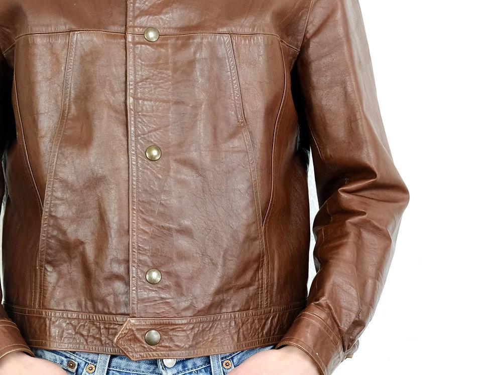 giacca-vera-pelle-vintage
