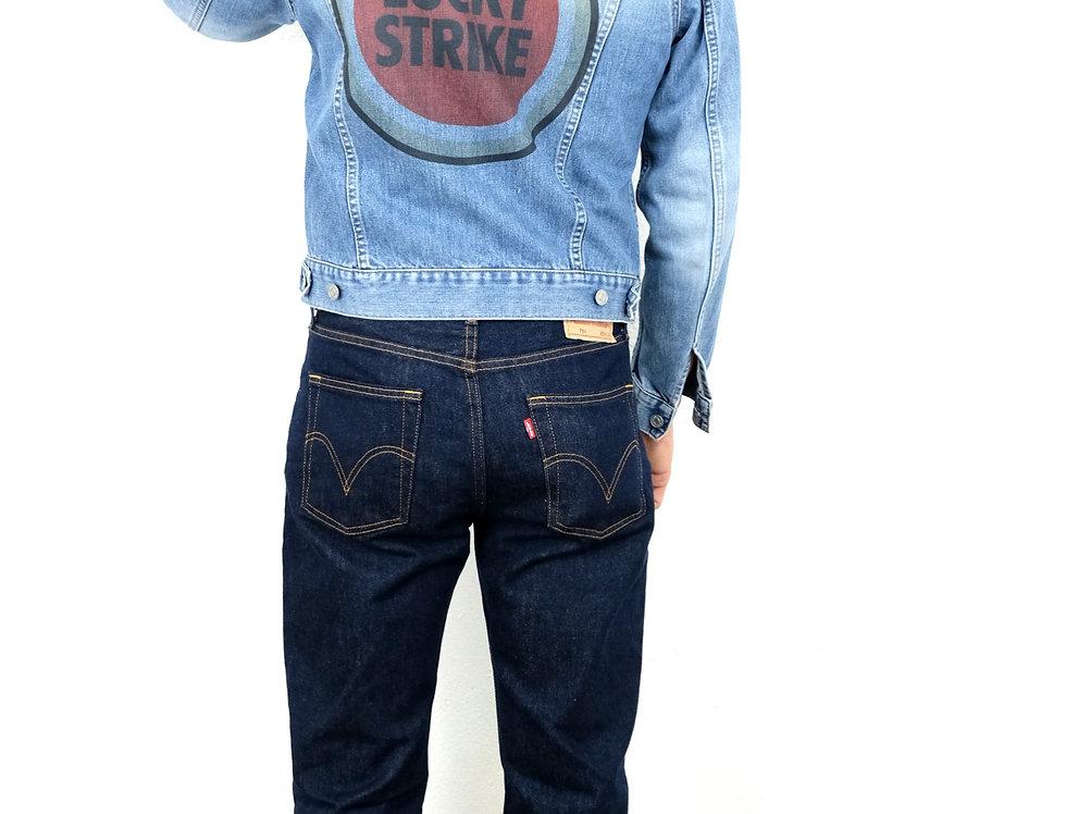 giacca-jeans-denim-vintage-casucci-customizzata-lucky-strike