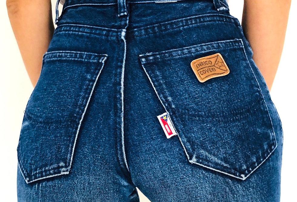 jeans-denim-enrico-coveri-vintage-vita-alta