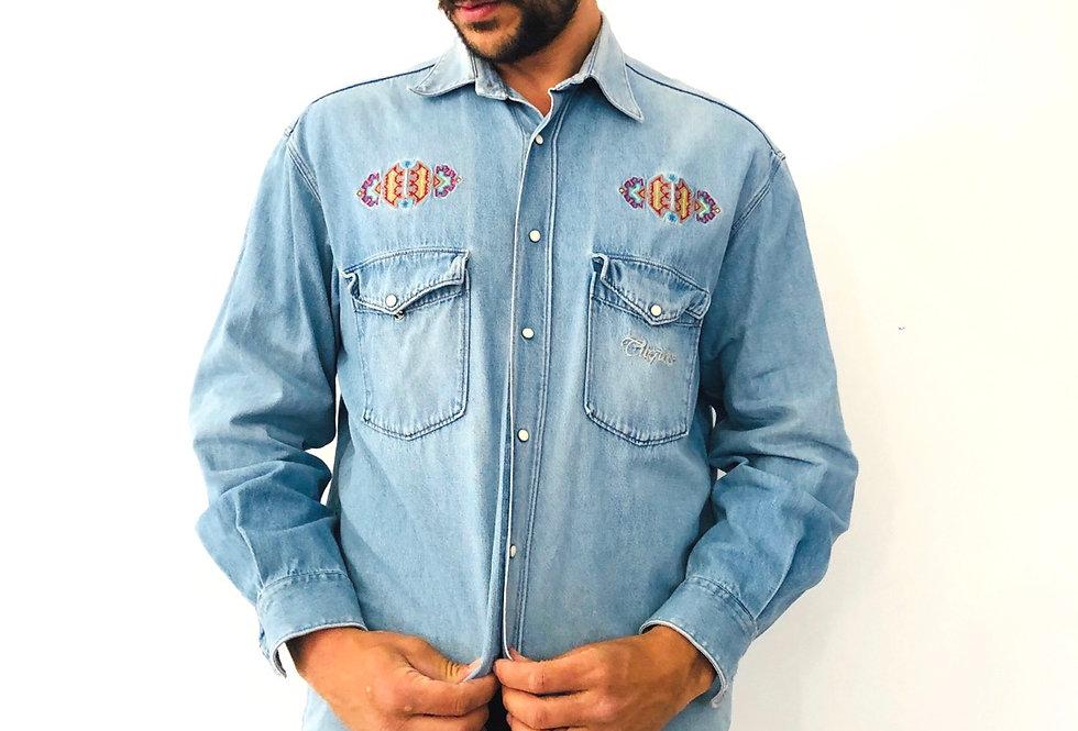 camicia-di-jeans-aztec-vintage