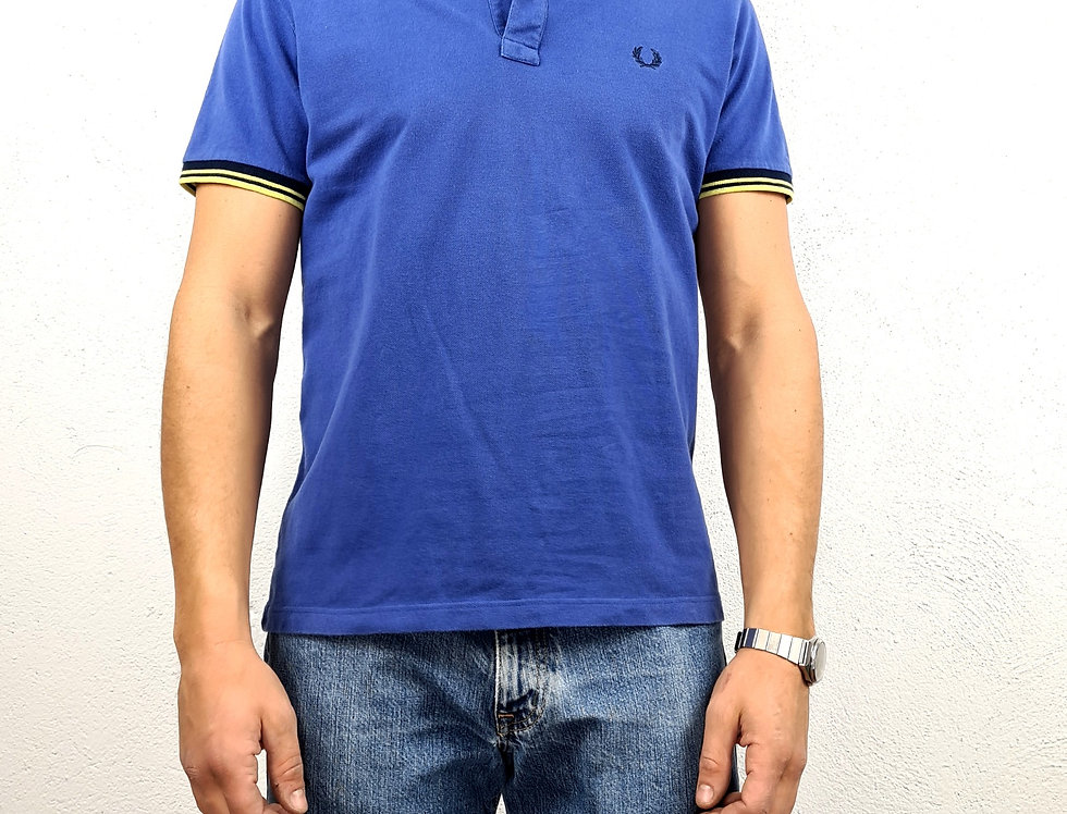 polo-fred-perry-vintage-blu