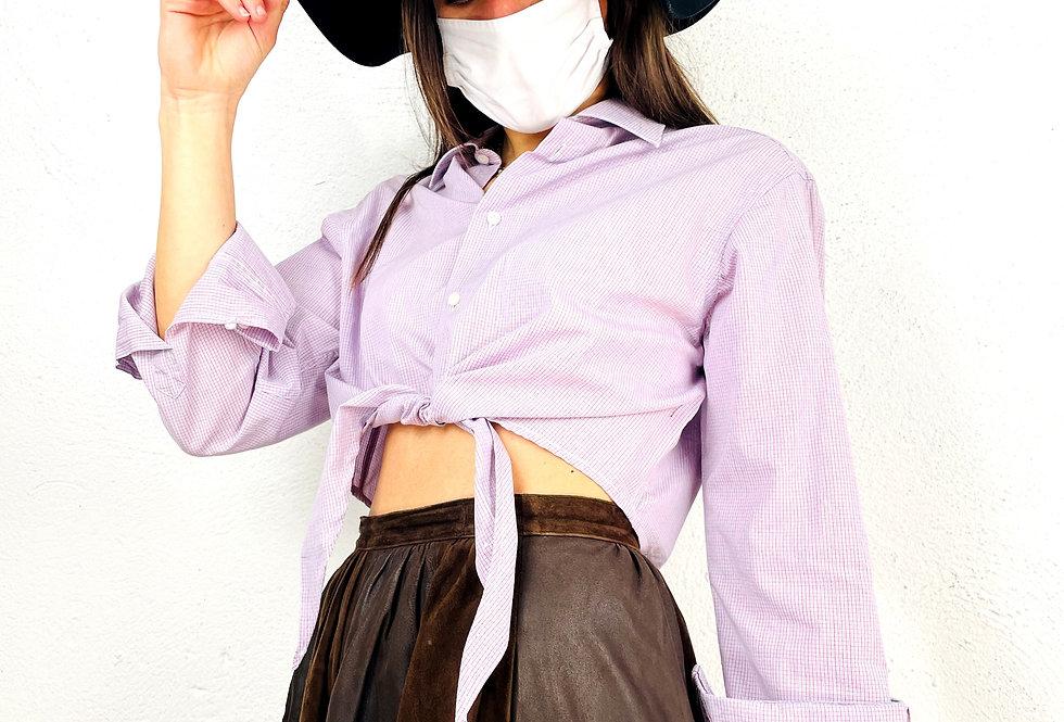 camicia-crop-manica-lunga-vintage