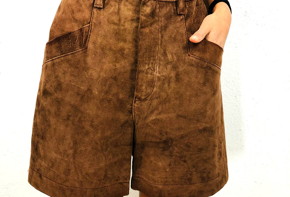 shorts-pelle-scamosciata-vintage