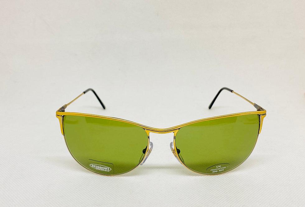 MISSONI m 313/s 74h vintage sunglasses DEADTSOCK