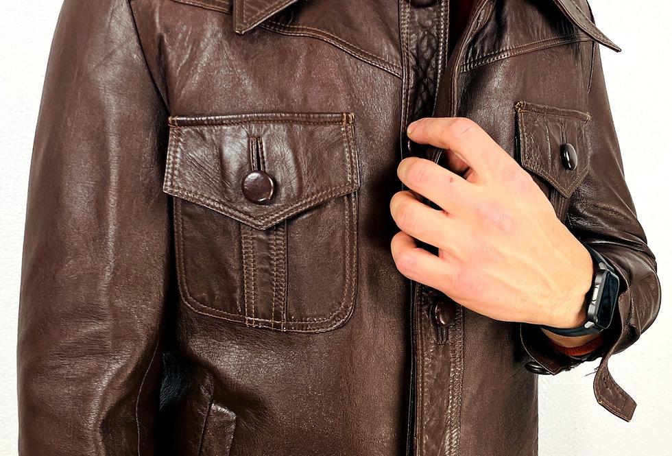giacca-pelle-collo-anni70-vintage