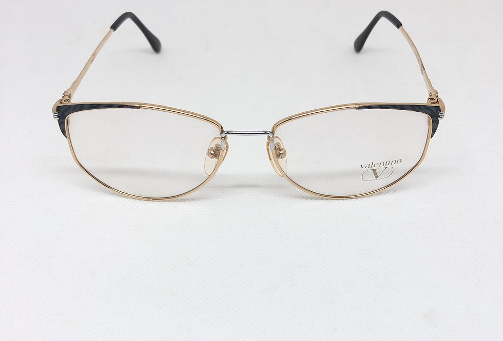 VALENTINO 5225 55 17 140 titan vintage glasses DEADSTOCK