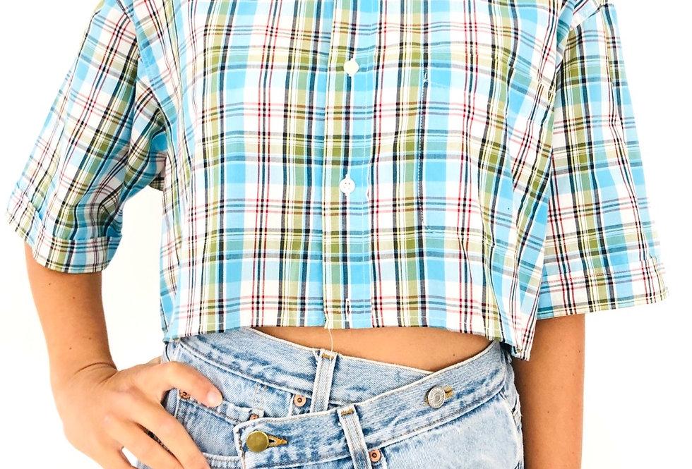 camicia-quadri-corta-vintage
