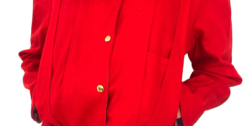 BOMBER red jacket