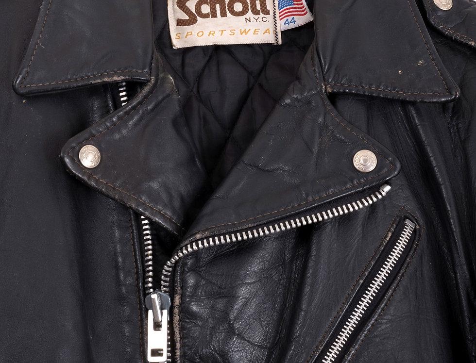giacca-chiodo-schott-vera-pelle-vintage