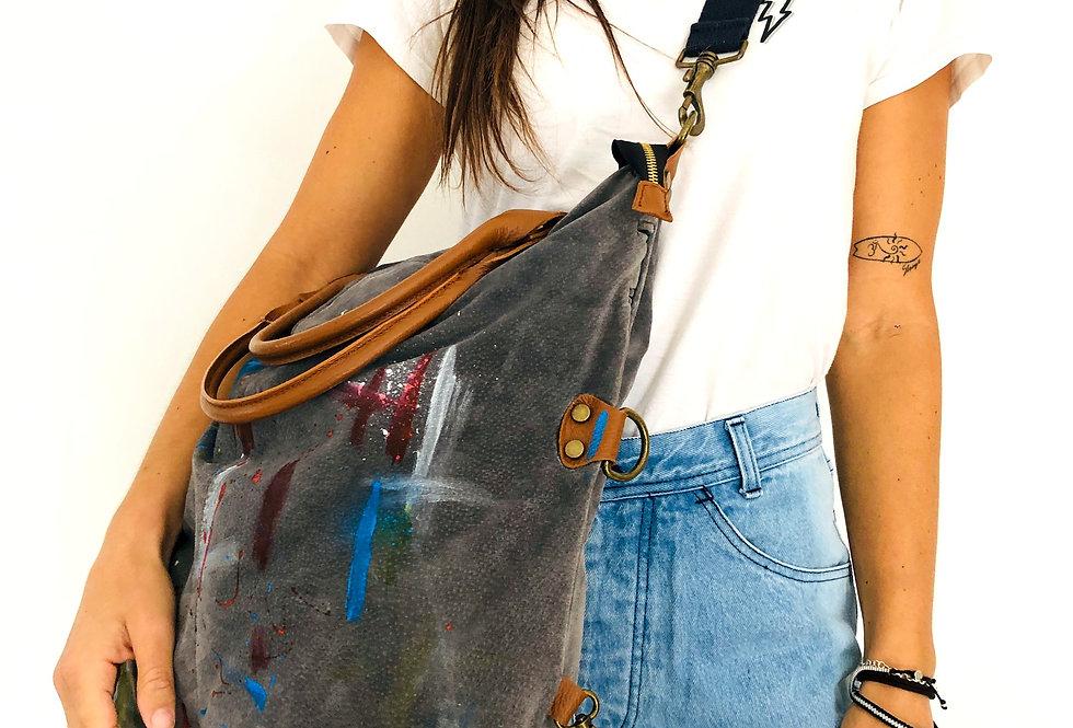 borsa-pelle-customizzata-tracolla-vintage