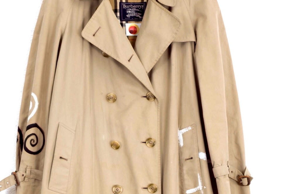 trench-burberrys-dipinto-a-mano-vintage