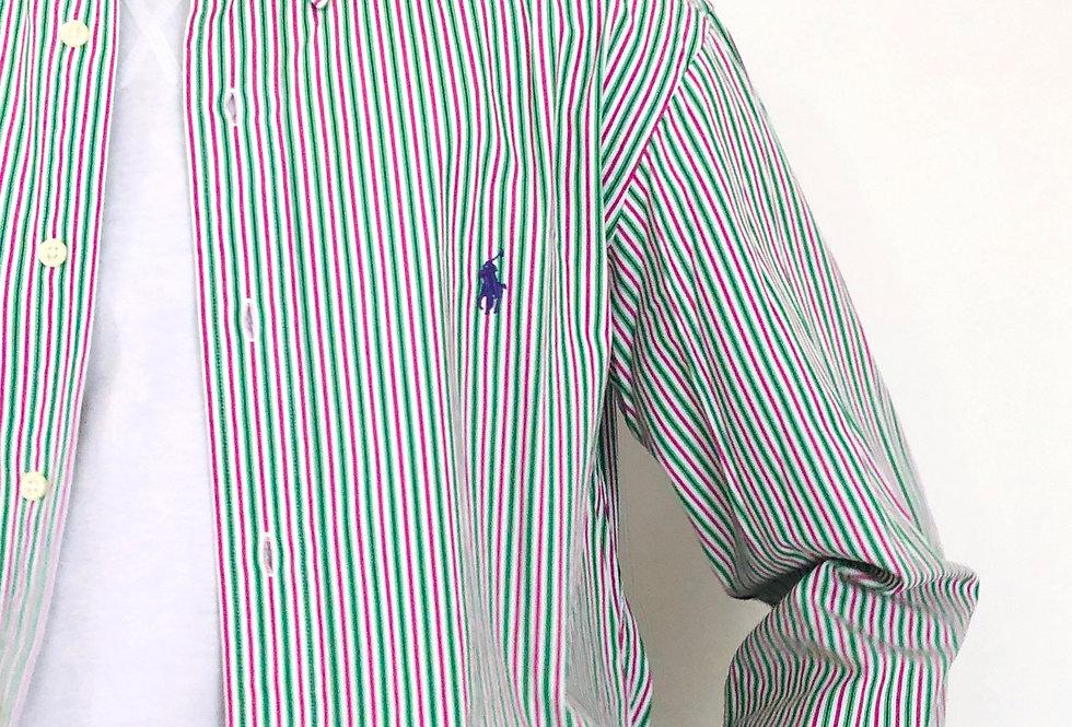 camicia-polo-ralph-lauren-righe-vintage
