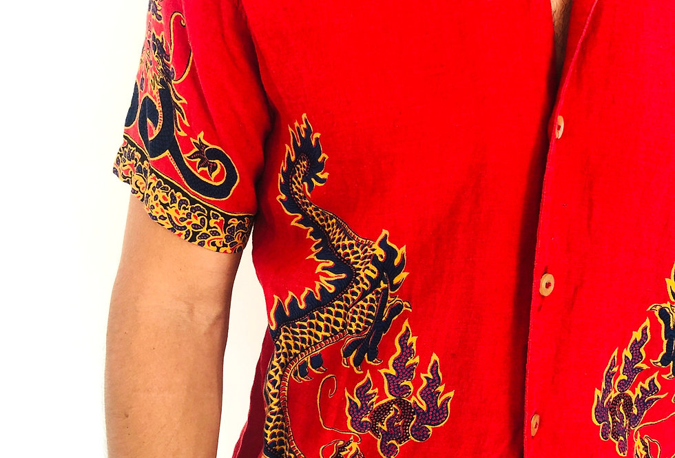 camicia-hawaiana-replay-vintage-dragone