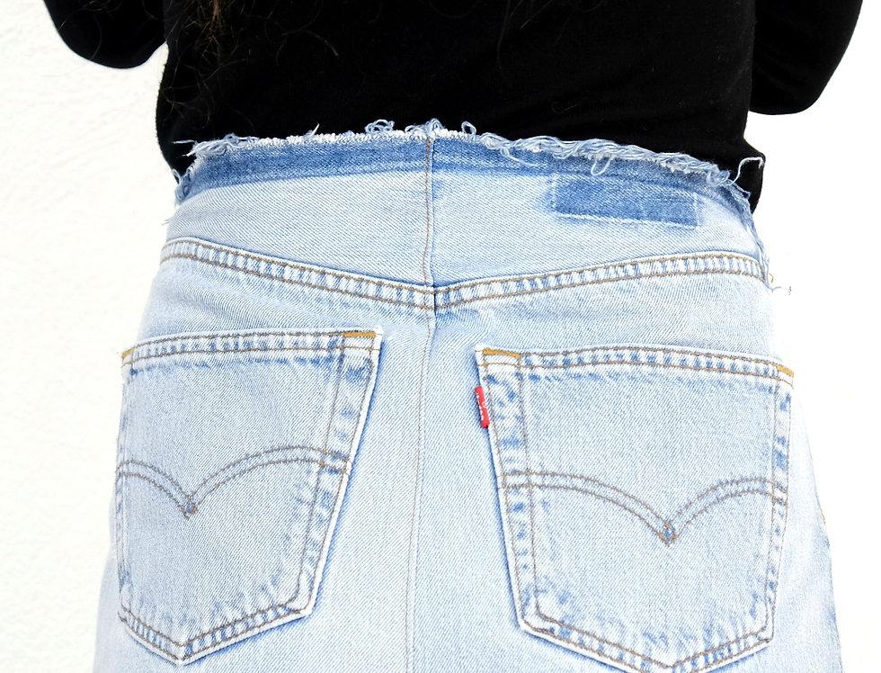 gonna-jeans-denim-lunga-vintage
