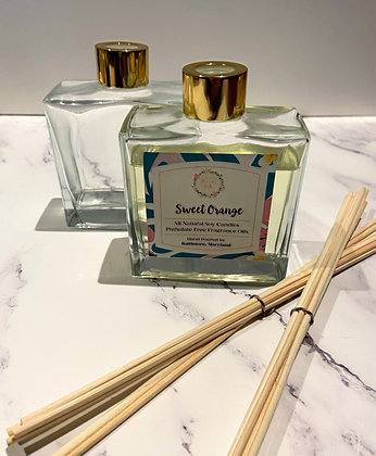 Scented Reed Diffuser Set