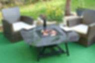 Fire pit Barbecue brasero outdoor