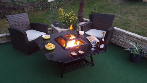 Barbecue Fire Pit Table basse de jardin