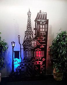 Tour Eiffel (Découpe Laser)