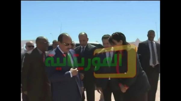 Visite du son excellence Monsieur le Président de la République islamique de Mauritanie Mohamed Ould Abdel Aziz au Centre Hospitalier des Spécialités de Nouadhibou 03 / 04/ 2018