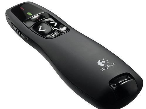 Logitech R400 Wireless Presenter - Black