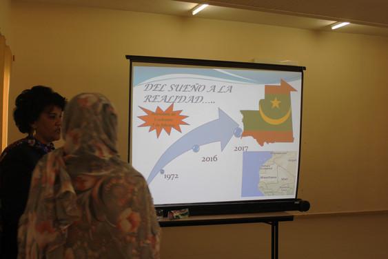 Des journées scientifiques ouvertes 09 / 11 / 2017   Le Centre Hospitaliers des Spécialités de Nouadhibou (CHSNDB), avait  initié Samedi 09 Décembre des journées de réflexion scientifiques au cours desquelles l'évaluation du travail du centre ,durant ces six mois de son existence , a été faite.Durant deux jours chaque spécialiste cubain devra présenter son expérience en Mauritanie et les principaux problèmes rencontrés et, de suite sensibiliser ;  la direction du (CHSNDB), sous la présidence de son directeur général Dr.Mohamed O/Cheikh , la présidente de la brigade cubaine Dr.Barbara et les différents responsables de santé régionale dans la capitale économique.