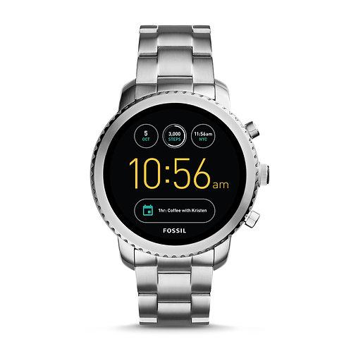Q Men's Gen 3 Explorist Stainless Steel Smartwatch, Color: Silver-Tone