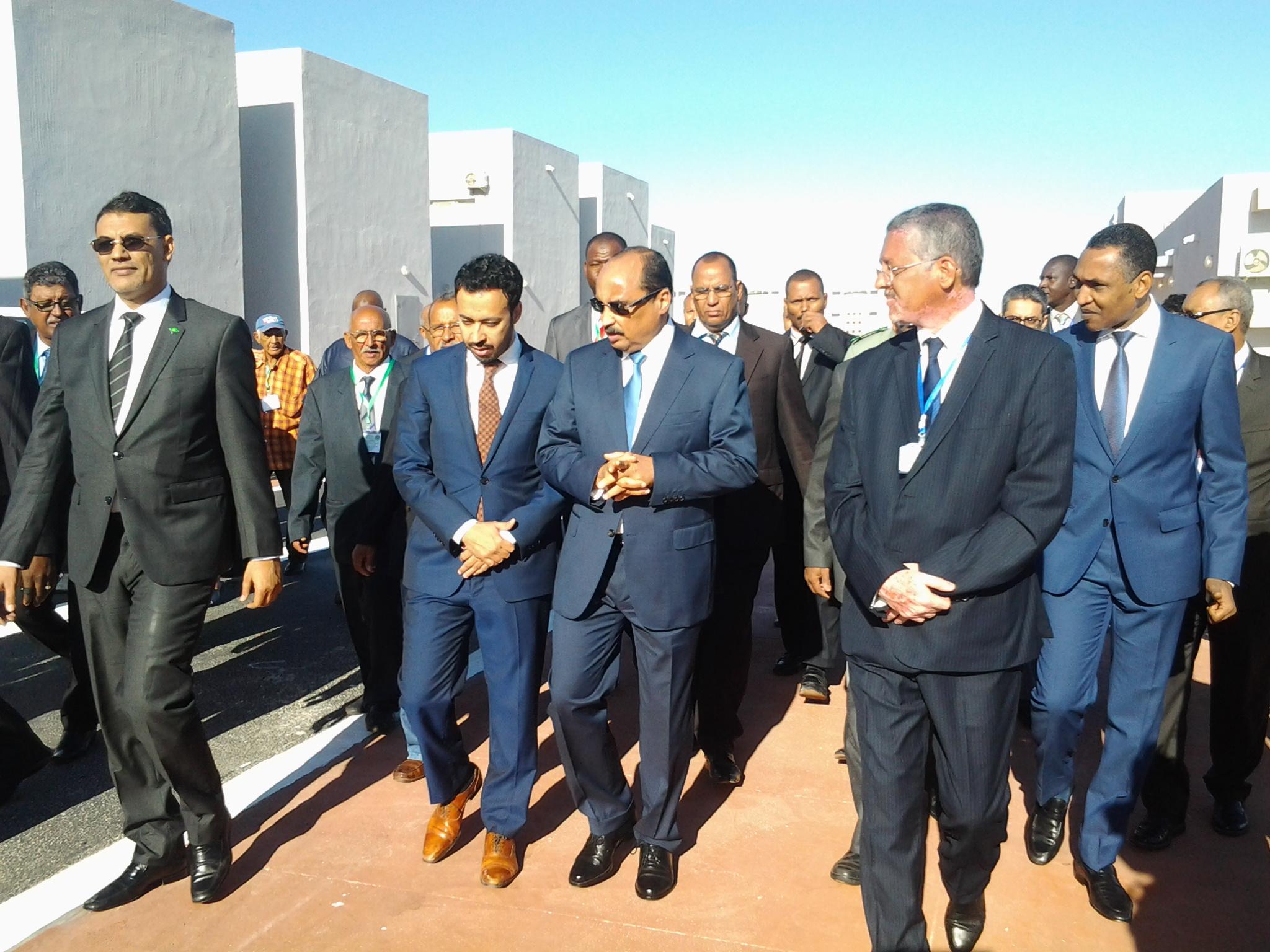فخامة الرئيس محمد ولد عبد العزيز