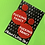 Thumbnail: Red FF Circle Earrings