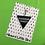 Thumbnail: Black Triangle Key Ring