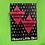 Thumbnail: Pink FF Triangle Earrings