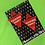 Thumbnail: Red FF Triangle Earrings