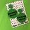 Thumbnail: Green FF Circle Earrings