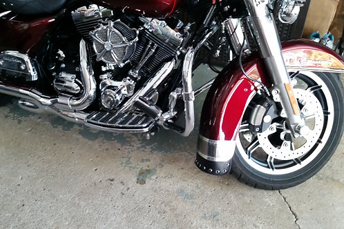 Mud Flaps: HD Touring Front & Rear