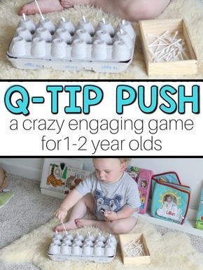 Enhance your Toddler's Motor Skills with this Easy Game