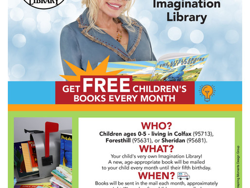 All aboard! check out Dolly Parton's imagination library!