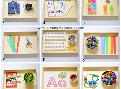 28 Months worth of Montessori Learning Activities for your Little Ones!