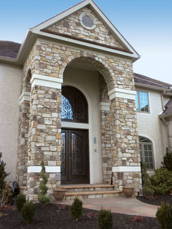stone entry