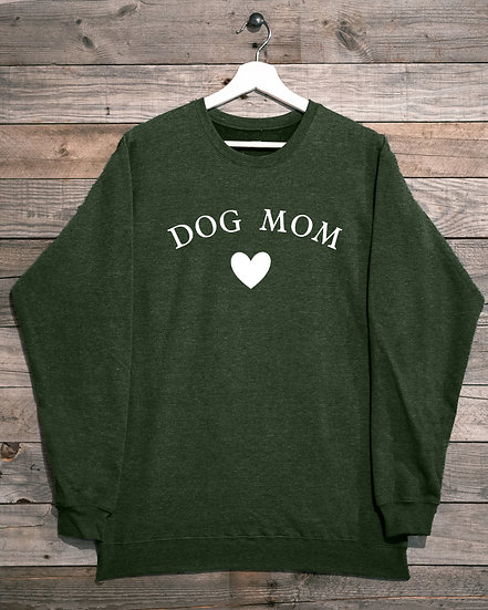 Dog Mom- Unisex Crew Neck