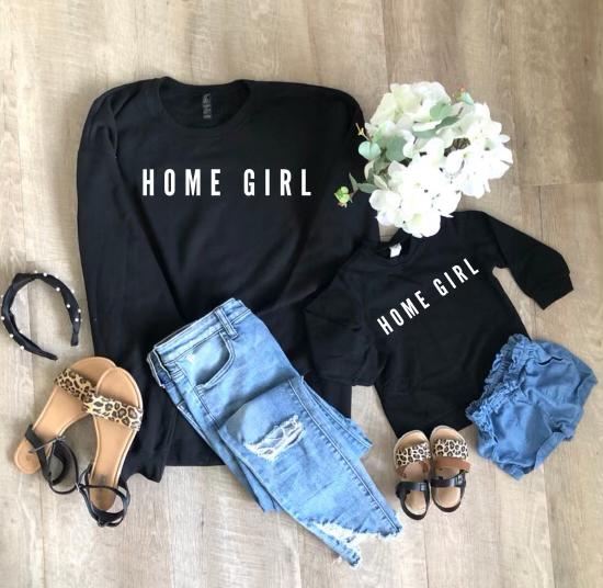 Home Girl/Boy Crewneck Set