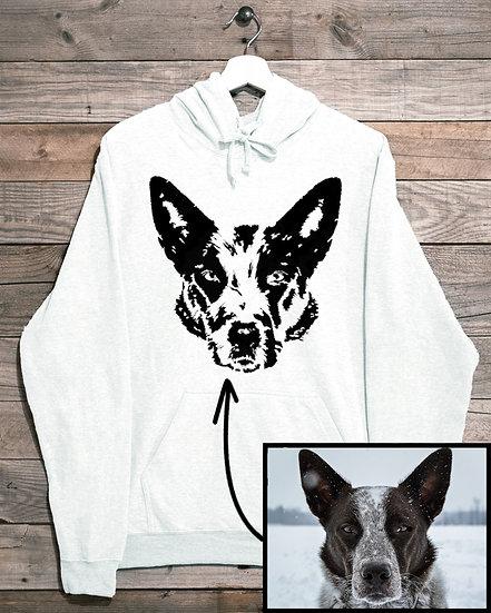 Custom Pet Portrait- Unisex Sweatshirts