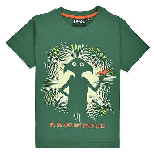 Fabric Flavours Harry Potter Glow In The Dark Dobby Tee