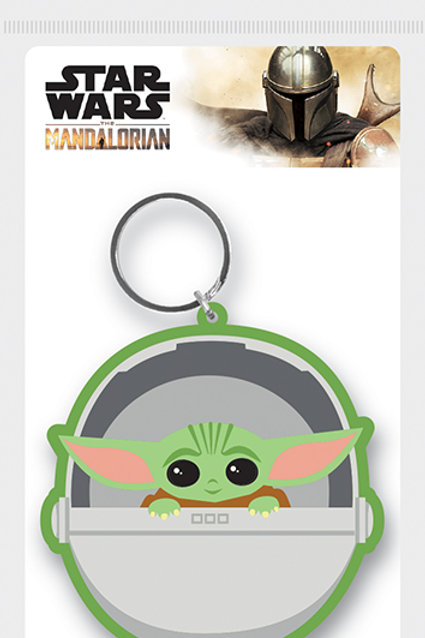 "Mandalorian ""The Child"" Rubber Keyring"