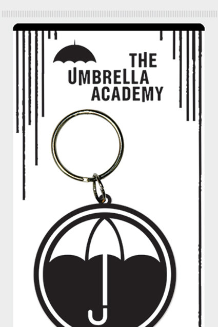Umbrella Academy Rubber Keyring