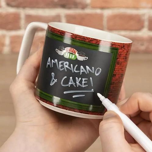 Friends Central Perk Chalkboard Mug
