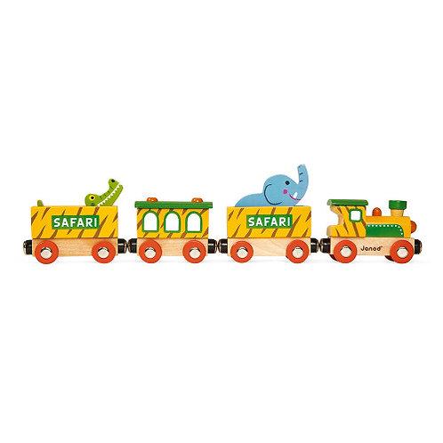 Janod Wooden Safari Train