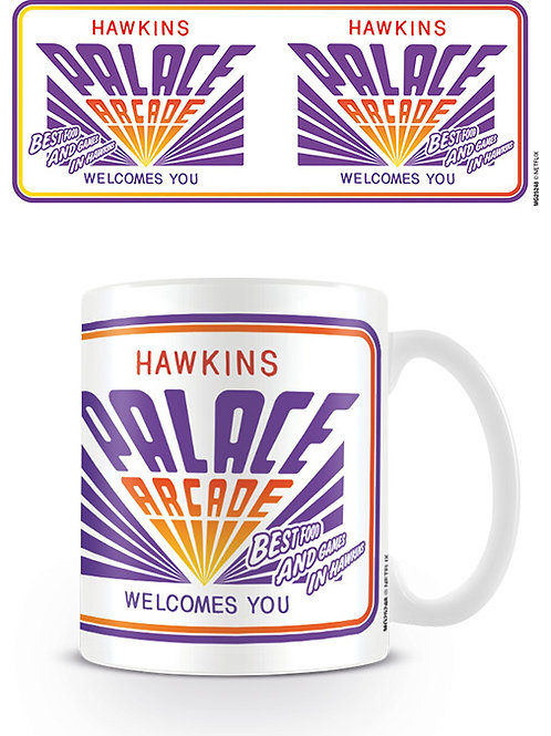 Stranger Things Hawkins Palace Arcade Mug