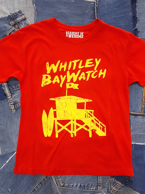 Local Hero Whitley Bay Watch Kids Tee